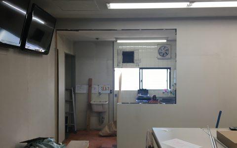 本社2階 炊事場リフォーム