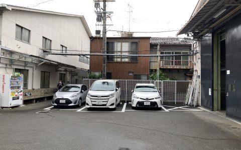 新駐車場 完成